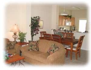 Terra Verde resort home living area