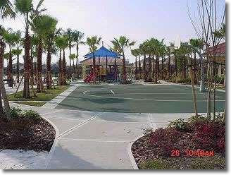 Terra Verde basketball courts